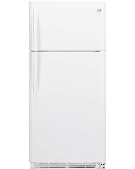 sears refrigerator replacement shelves kenmore 60502 18 cu ft top freezer refrigerator w
