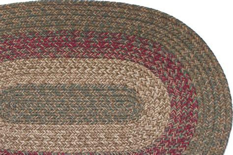pennsylvania merlot braided rug