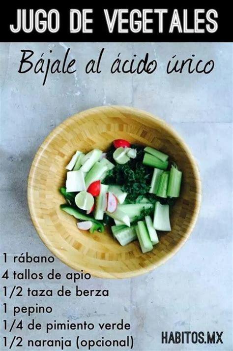 jugo acido urico drinks food ethnic recipes  juice