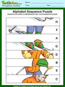 sequence the letter in alphabetical order worksheet