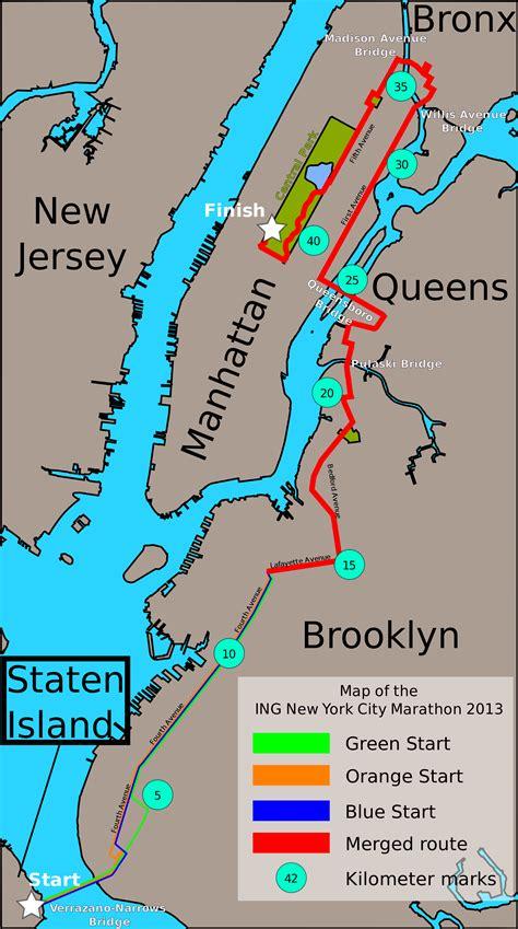 map new york city languages marathon de new york