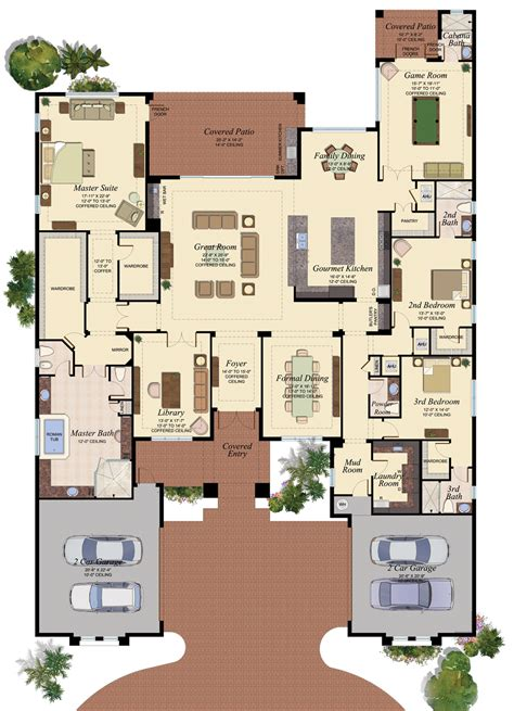 gl homes the bridges floor plans