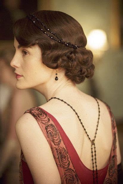 lady mary crawleys new hair style downton abbey lady mary crawley played by michelle