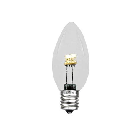 c7 lights and white warm white led c7 glass bulbs novelty lights