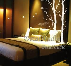 Decorative Wall Art For Bedroom Love Trees And Birds Vinyl Wall Decal Sticker Art Bedroom
