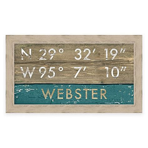bed bath and beyond webster buy framed gicl 233 e webster tx coordinates print wall art