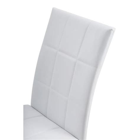 6 Chaises Blanches by Lot De 6 Chaises Blanches Dona Lot De Chaises Salle A