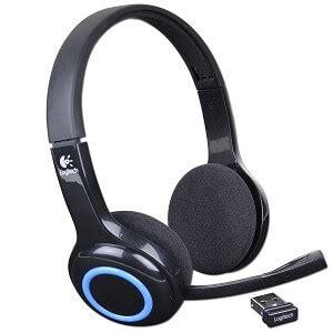 Headset Logitech H600 logitech h600 wireless headset for pc mac foldable personal computer center
