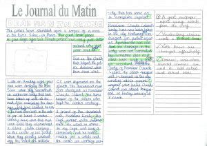 Writing Newspaper Reports Year 6 by Uncategorized Page 4 Cherbourg Primary School
