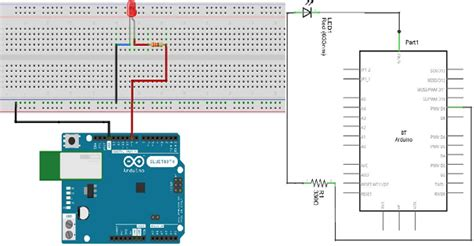 breadboard circuit components arduino fading led