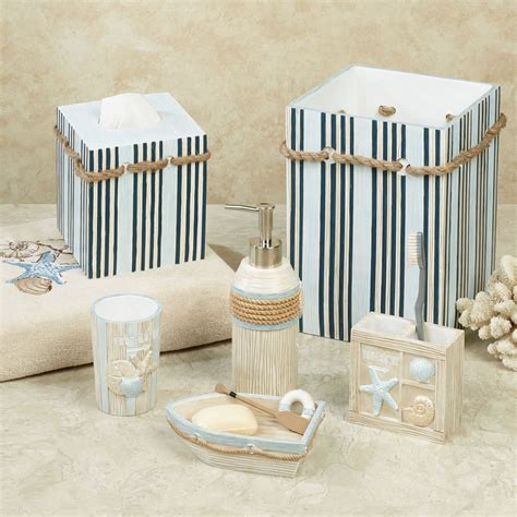 seaside serenity coastal bath accessories
