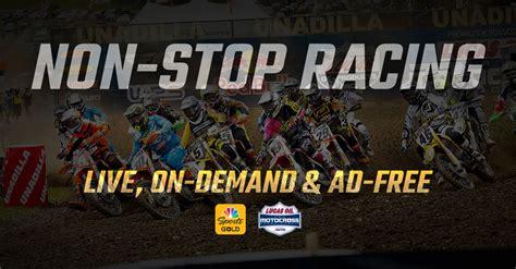 pro motocross live lucas pro motocross nbc sports gold introduces pro