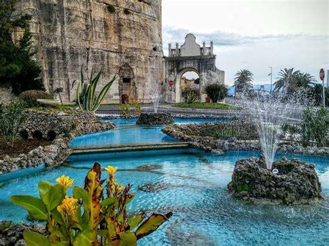 terracina porto terracina in italia con diversi siti di interesse vicino
