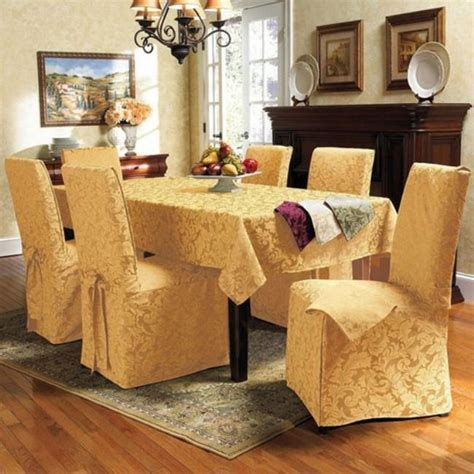 yellow dining room chair covers dining chairs design