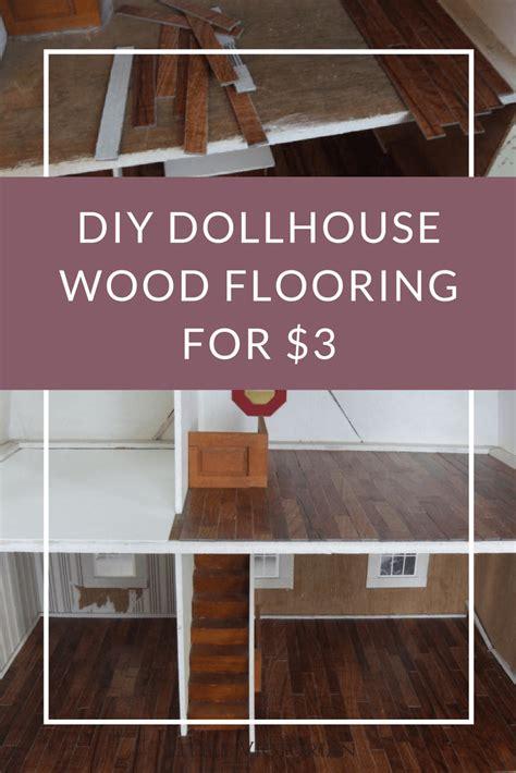 dollhouse flooring diy hardwood dollhouse flooring from vinyl tiles