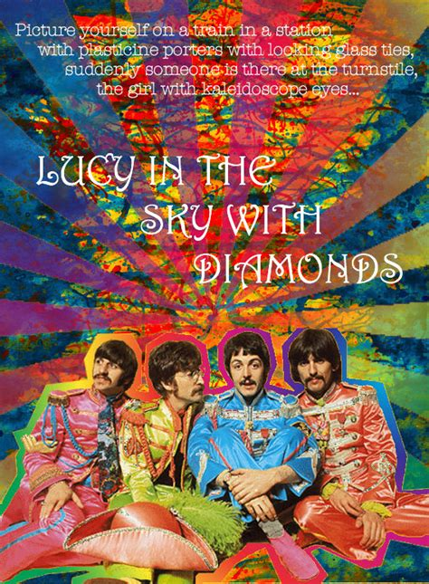 The Beatles Lucy In The Sky With Diamonds | lucy in the sky with diamonds by the beatles what they