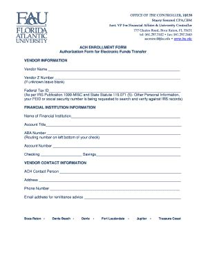 Fau Print Application - Fill Online, Printable, Fillable ... W 9 Form 2016 Fillable Pdf