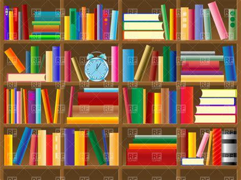 Book Shelf Clip by Wooden Bookshelf Vector Clipart Image 4482 Rfclipart