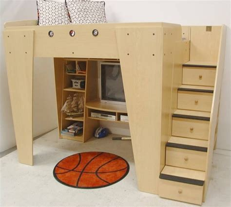 cm 1185931 house interior construction kit 100 bunk bed stairs drawers bed with closet