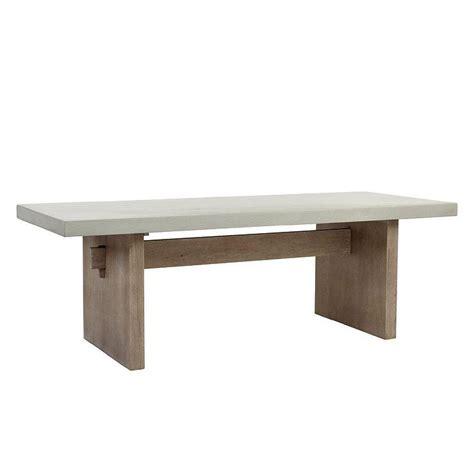 restoration hardware concrete dining table concrete dining table dining tables