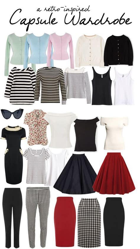 Clothing Capsule Wardrobe by 17 Best Ideas About Vintage Style On Vintage