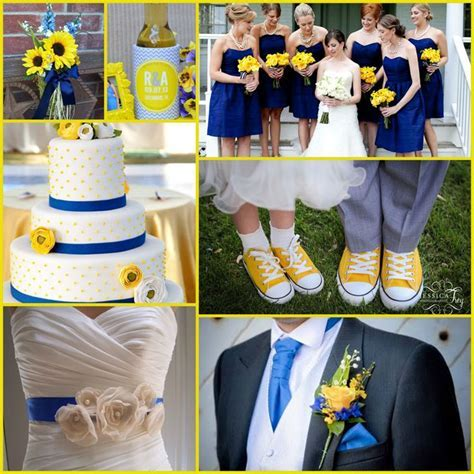 Best 25  Blue yellow weddings ideas on Pinterest   Yellow