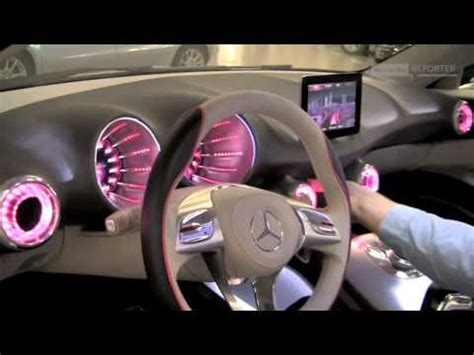 mercedes benz silver lightning interior the concept a class interior design youtube