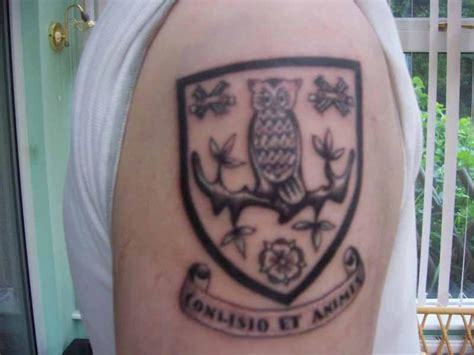 tattoo removal sheffield wednesday tattoos sheffield wednesday matchday owlstalk