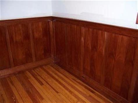 custom mahogany wainscot  trim  yeager woodworking
