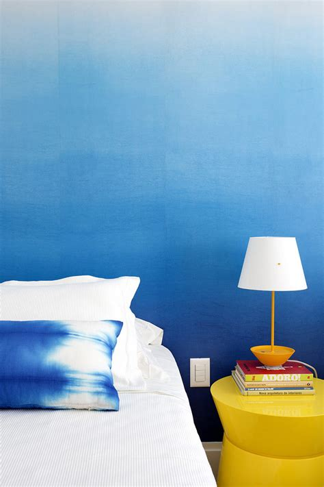 ombre wall bedroom design ideas create an ombre wall for a colorful