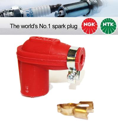 removing resistor from spark cap 1x ngk none resistor spark cap lber r 14mm nut terminal 8307 ngk lber r from car