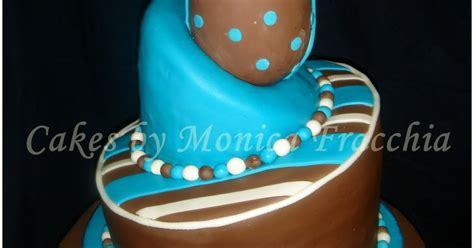 tortas cakes by monica fracchia torta decorada para baby shower