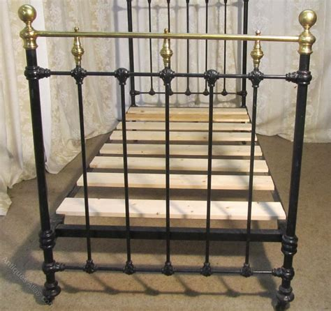 antique brass bed victorian brass and iron single bed antiques atlas
