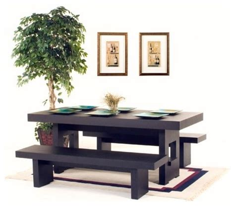 Indoor Bench Table Sofa 78 Quot Rectangle Dining Table With Two