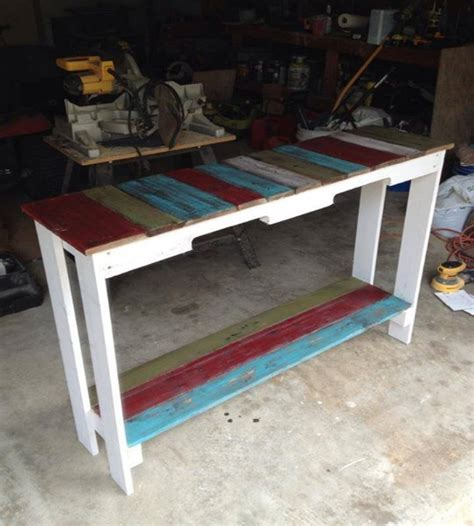 colored benches pallets colored benches and tables my decor home