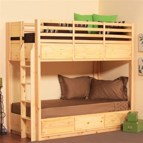 Simple Bunk Beds Bedroom Designs Astonishing Bunk Beds Wooden Style Simple Design An And Luxurious