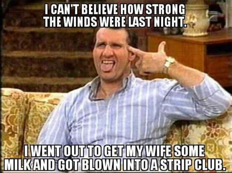 Married With Children Memes - al bundy was a gangster funny pinterest