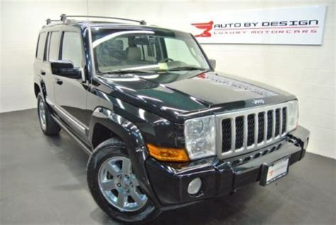 buy   jeep commander  limited  navigation dvd sunroof  row seats