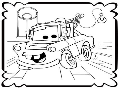 coloring pages mater truck mater coloring pages coloringsuite com