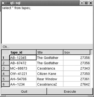 qt tutorial sql client 4 an interactive query processor chapter 12