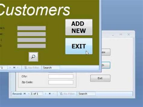 form design access 2007 youtube access database how to improve access form design youtube