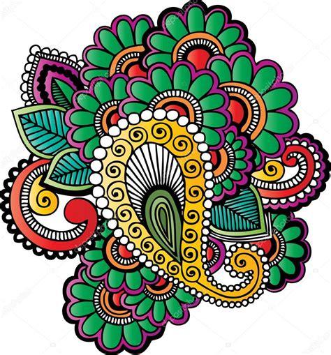 tatuaje de henna vector de stock 169 morrmota 14017813