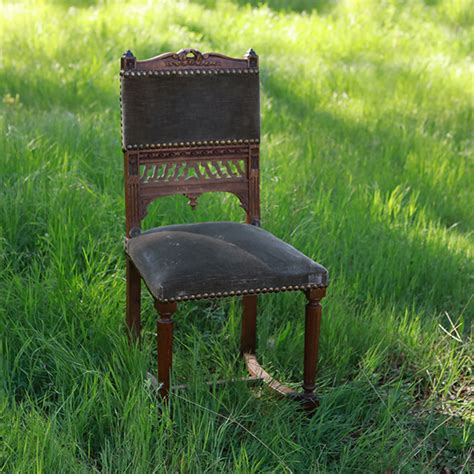 grayish green walnut and grayish green chairs forever vintage rentals