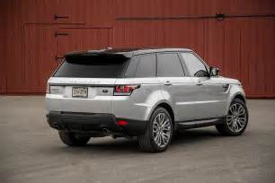 2014 land rover range rover sport supercharged rear three