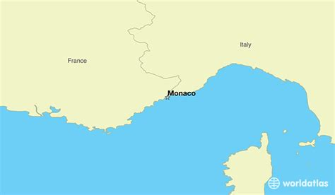 monaco europe map where is monaco where is monaco located in the world