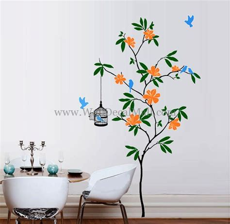 flowers wall stickers wall decals flowers 2017 grasscloth wallpaper