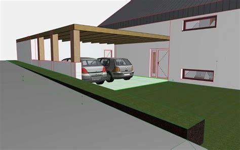 Carport Neben Haus by Carport Hauseingang Kombinieren Baurechtforum Auf