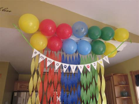 simple birthday decoration for kids at home home design emma s nd birthday party life really blog