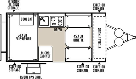 tent trailer floor plans forest river rockwood tent pop up cer by forest river