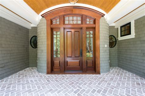 Delightful Fiberglass Entrance Doors Decorating Ideas Traditional Exterior Doors